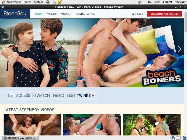 8teenboy.com Account Membership