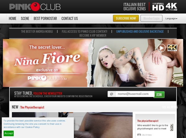 Account Free For PinkO Club
