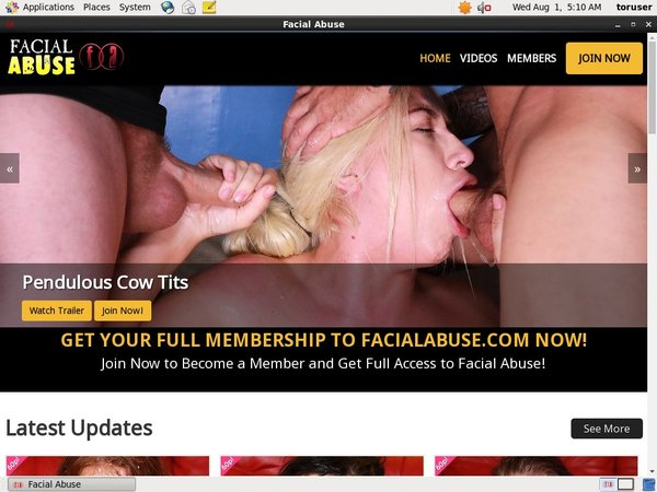 Free Facial Abuse Discount