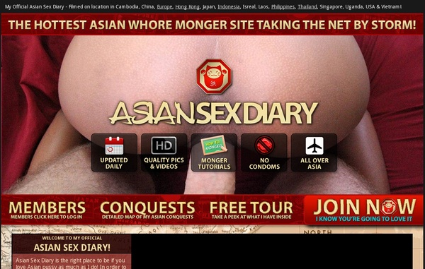 Login To Asiansexdiary For Free