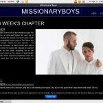New Missionary Boys Accounts