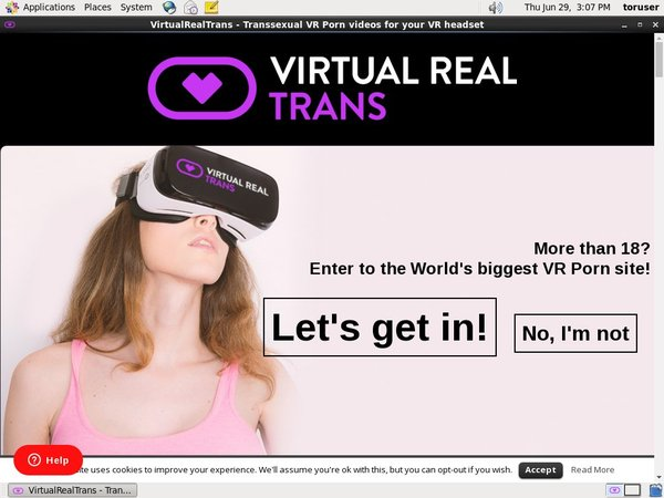 Virtualrealtrans.com Paypal?