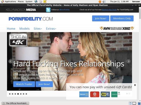 Free Pornfidelity.com Accounts