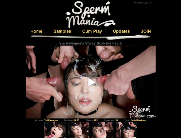 Spermmania.com Register Form