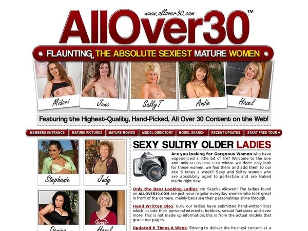 Free Allover30 Login Accounts