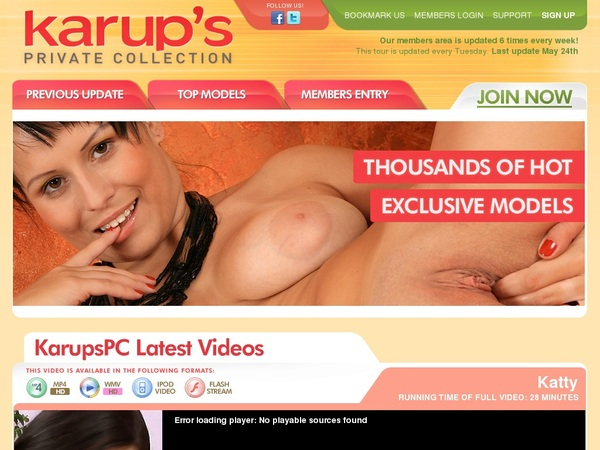 Account For Karupspc