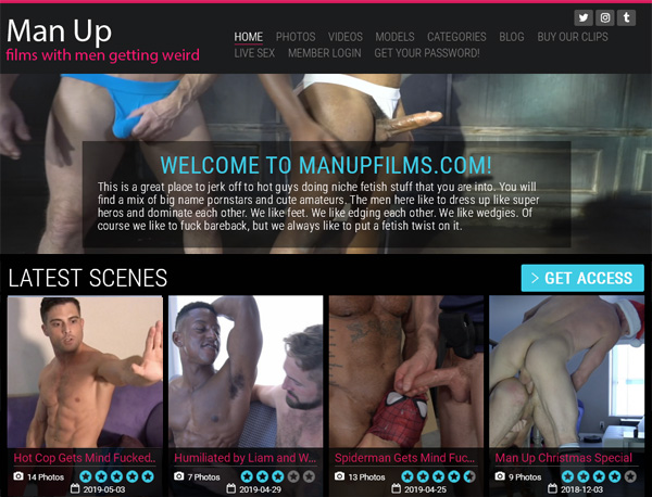 Does Man Up Films Use Paypal?