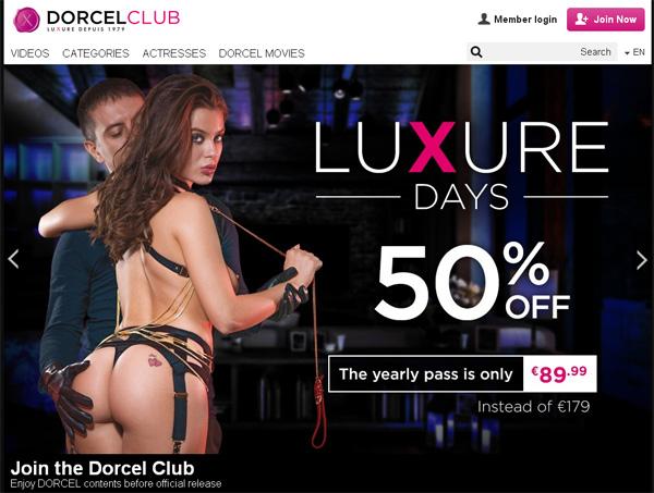Dorcelclub.com Login Password