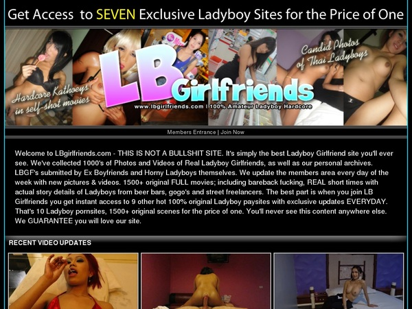 LB Girlfriends Promo Offer